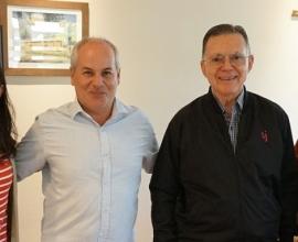 Visita del P. Luiz Fernando Klein, S.J