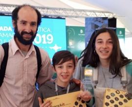 1er premio en Olimpíadas de Robótica del Plan Ceibal 2019
